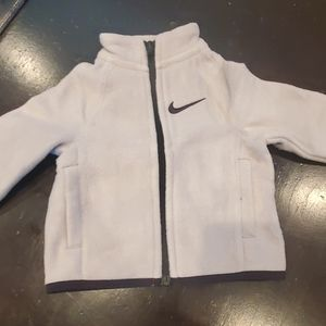 Kids nike jacket size 12M